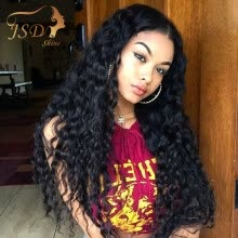 -4PCS Brazilian Virgin Hair Water Wave Virgin Brazilian Natural Wave 100% Unprocessed Human Hair Weave Brazilian Natural Wave on JD