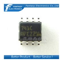 -10PCS UA741CDT SOP8 741C SOP General-purpose single operational amplifier UA741C fSMD ree shipping on JD