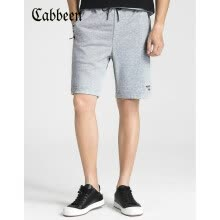 -Carbine CABBEEN 3182161508 Carbine Men's Slim Pants Casual Knit Shorts Personality Youth Spring and Summer Midfoot Pants Tide Brand Personality J Light Flower Grey 26 50/175/L on JD