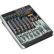 sound-mixers-Behringer QX1204USB Mixer (sound card, then put the monitor effect in a mixer / family K song personal recording business meeting stage performances, etc.) on JD