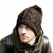 875061442-Classic Braided Hats Woven Wool Cap Suitable For Men and Women Pure Simple Style Warm Lovers Gifts on JD