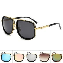 -LIKEU'S Fashion street style sunglasses Vintage Square unisex colorful eyeglasses Classic Travel outdoor Retro Sunglasses on JD
