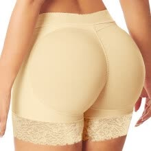 875061832-Sexy Boyshort Panties Woman Push Up Padded Panties Buttock Shaper Butt Lifter on JD