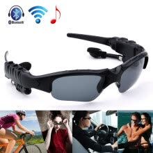 -Sunglasses Bluetooth Headset Earphone Hands-free Phone Call For iPhone on JD