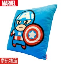 -Marvel cartoon style pillow sofa cushion office pillow bed backrest car waist cushion lumbar pillow pad genuine Marvel Kawaii Spider-Man 35*35cm on JD