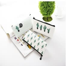 875065887-Creative Cute Cactus Pencil Case Stationery Bag on JD