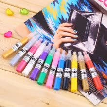 -3D Nail Art Polish Painted Pen Liner Painting Pen Carved Pen Kit Set 12 color on JD