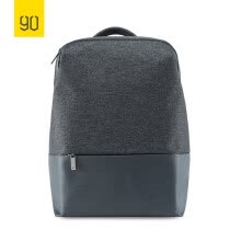 -Xiaomi Ecosystem 90FUN City Concise Series Backpack Water resistant Fashion Design School College Travel Man Woman Dark/light Grey on JD