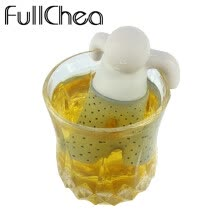 coffee-tea-espresso-Cute 1pc Mr Tea Infuser / Tea Filter / Tea Strainer / Food Grade Silicone Material Tea Infusor 5 Colors on JD