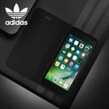 -Adidas (Adidas) iPhone7/8 Plus Flip Phone Case Clover Classic Apple 7/8P Shatter-resistant Scratch Screen Protector - Premier Red on JD