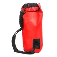 875062575-Red 10L Waterproof Dry Bag For Canoe Floating Boating Kayaking Camping Hiking on JD