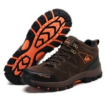 875062322-2018 new men's shoes high top shoes outdoor hiking shoes rubber sole on JD