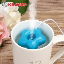 -New Fashion Mini USB Donut Humidifier Air Purifier Aroma Diffuser Maker Steam Portable Office Home on JD