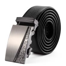 belts-Cnoles Men's Business Automatic Buckle Belt(Belt Length Random Delivery) on JD