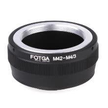 camera-lens-accessories-Fashion Accessories Fotga Adapter Ring for M42 Lens to Micro 4/3 Mount Camera Olympus Panasonic DSLR Camera on JD