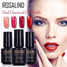 -ROSALIND 7ML Nail Polish Gorgeous Color Nail Gel Polish Vernis Semi Permanent Top Coat Base Coat Gel Nail Varnishes gel lacquer on JD