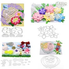 87502-11 Patterns Scrapbooking Cutting Dies Artifact Tool Decorative Embossing Mould Folder Suit Paper Cards Mold Template on JD