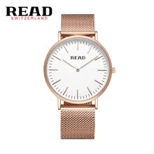 -READ R2018 men's watch simple two-pin import quartz movement ultra-thin men's watch Water Resistant fashion watch & watch on JD