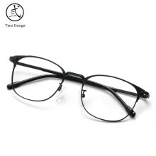 875062531-Sanshi glasses frame men and women art box optical frame full frame face retro can be equipped with glasses frame 9615 black frame on JD