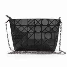 -lady geometric totes solid chains handbag hotsale women party purse messenger crossbody shoulder envelope bags on JD