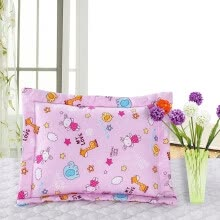 shams-bed-skirts-bed-frame-draperies-Ivy Bedding Home Textiles Belt Cotton Student Children's Pillowcase Cotton Cartoon Small Pillow Bag Bag 1 Pack (Animal Paradise 36 * 46) on JD