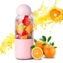 electronic-gifts-Gan Yue (qianyue) wedding gift to send lover to send wife portable juice machine mini household electric fruit cup fruit juice cup pink on JD