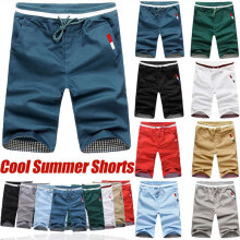 875068681-2018 New summer men's casual sports shorts beach workout shorts on JD
