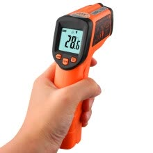 -Victory Instrument (VICTOR) Infrared Thermometer Industrial Oil Temperature Thermometer Digital High Temperature Home Maintenance Laser Non-contact Handheld VC302B (-32 to 380 degrees) on JD