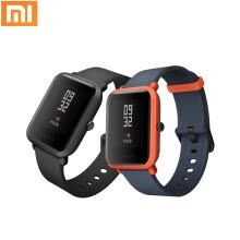 875072528-Original Xiaomi Smart Watch Bluetooth 4.0 Sports Smart Bracelet GPS Positioning Heart Rate Monitor Waterproof Black on JD