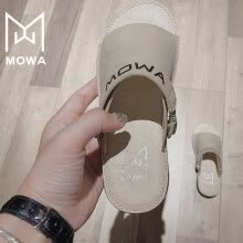 kids-baby-shoes-Conamore MOWA Alice Cold Series Italian Soft Crystal Massage Sole Sandals Girls Slipper Sandals on JD