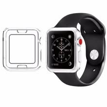iphone-accessories-42mm Apple Apple watch 42mm transparent color tpu watch case Ultra-thin anti-fall on JD