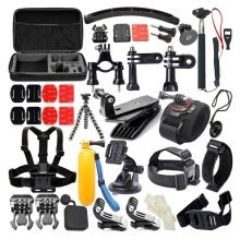 875072536-Accessory Kit for Gopro 50 in 1 Waterproof 147-Action Camera for Xiaomi Action Camera on JD