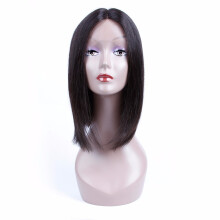 Human Hair Lace Wigs Fast Deliver Allrun Indian Ocean Wave Human Hair Wigs With Adjustable Bangs Human Hair Wigs Non Remy Hair Wigs Full Machine Natural Color