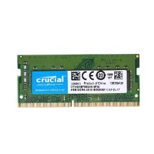 rams-Crucial 4GB Single DDR4 2400MT/s PC4-19200 CL17 1.2V SODIMM 260-Pin Memory for Laptop Notebook CT4G4SFS824A on JD