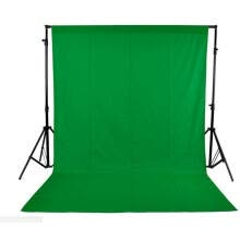 875072536-Heavy weight Chromakey Green Muslin Solid Photo Backdrop for Professional Photography or Video ML-001 on JD