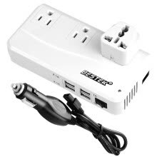-BESTEK Inverter MRI2013NU White 12V to 220V 200W (global version EU EN AU)Continuous Output Car Power Converter 4USB Car Outlet Charger on JD