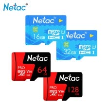 875061488-Netac Micro SD Card 128GB 32GB 64GB 256G Memory Card Class10 U3 U1 Flash TF Microsd Card for Phone with Mini SDHC SDXC on JD