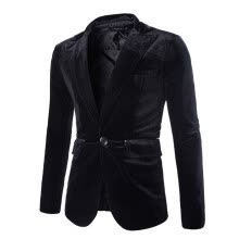 -Zogaa Men's Suit Silk Light Single-breasted Wick Down New Slim on JD