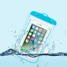 -Universal Waterproof Phone Pouch For Apple iPod Touch 4/Touch 5/Touch 6 Swimming Transparent Bag Luminous Case on JD
