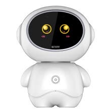 smart-robots-Intelligence Express C20 Gold Xiaoshuaizi children intelligent robot touch learning machine 3-6-12 years old education accompanying early education voice dialogue chubby Android high with version blue 16+32G on JD