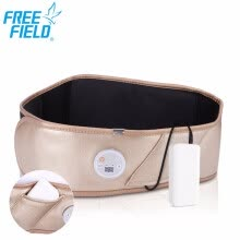 waist-massagers-Free Field moxibustion heating waist massage belt vibration cordless portable re-chargable battery spa device benefits shiatsu on JD