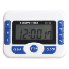 8750201-UpperX PURSUN PS360 Digital Timer Wide Screen Clock (Blue) on JD