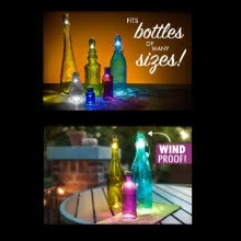novelty-lighting-Cork Shaped Rechargeable USB LED Night Light Super Bright Empty Wine Bottle Lamp for Party Patio Xmas Durable To Use on JD