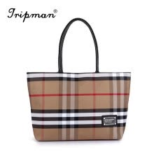-Tripman Hot New Fashion Famous Designers Brand Handbags Women Big Tote Bags PU Leather Shoulder Bag Stripped Lady Shoulder Bag on JD