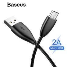 -Baseus 2A  Micro USB Cable Charging and data transfer Cable for Samsung Note 4 Xiaomi Red MiHua Wei Qi Charging  1M on JD