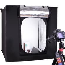 875072536-Rimma (EIRMAI) YA60 LED mini soft box professional photography light box small simple camera photo studio electric equipment photographic equipment props 60CM adjustable light version on JD