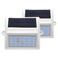 8750210-DC 5V 24LEDS Solar Wall Light Solar Motion Sensor Lamp IP65 Waterproof Garden Wall Lights Corridor Wall Lamp exquisit decorated on JD