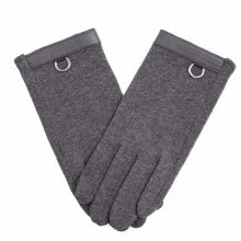 gloves-mittens-Men's outdoor gloves furry lining warm high quality cycling gloves fashion metal ring decoration urban popular 2018 new discount on JD