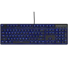 -SteelSeries Apex M500 Blue Edition Game Machine Keyboard Black Red Shaft on JD