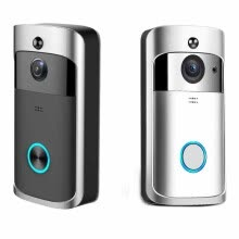 -Wireless Doorbell Camera WiFi Remote Video Door Intercom IR Security Bell Phone on JD